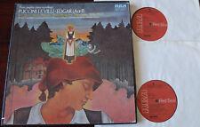 RCA LSC-7096 PUCCINI LE VILLI 2-LP GUADAGNO NM- (1972) USA EDGAR ACT II