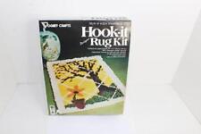 New listing Vintage Hook It Rug Kit #4324 Window Scene Hook Latch Sealed Vogart Crafts