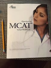 The Princeton Review Hyperlearning MCAT Verbal Workbook 2012 Edition(LIKE NEW)