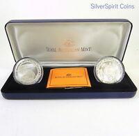1999 $10 LANDMARK SNOWY MOUNTAINS  Silver Coin Set