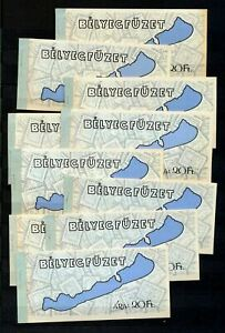 Hungary 1969 Booklets Used x 10 (NT 6449