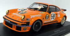 Voitures de courses miniatures orange pour Porsche 1:18