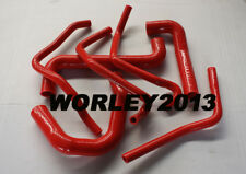 Red silicone radiator heater hose for Statesman WH Gen3 LS1 5.7L V8 engine
