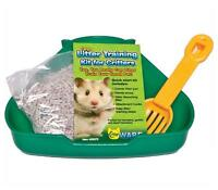 COMPLETE CRITTER LITTER TRAINING KIT HAMSTERS GERBILS DWARF HAMSTERS PAN SCOOP