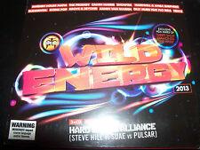 Wild Energy 2013 - 3 CD Hard Dance Alliance Steve Hill Vs Suae vs Pulsar - New