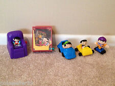 Bobby's World McDonalds Toys Lot Fast Food Toys Cake Toppers