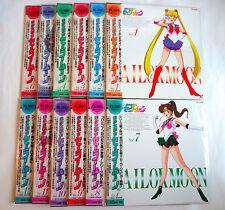 SAILOR MOON Vol.1-12 JAPAN LD Laser Disc w/OBI Complete TV Series 1 episode 1-46