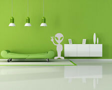 Alien Peace UFO Sign Vinyl Wall Decal Sticker Removable Graphic Child's room