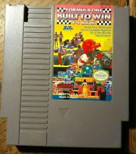 Formula One: Built to Win (Nintendo Entertainment System 199) Vg Shape & Tested