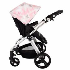 My Babiie MB150 From Birth Baby / Kids Pram / Pushchair - Pink Butterflies