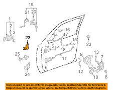 TOYOTA OEM 97-01 Camry-Door Hinge-Lower Left 6872033010