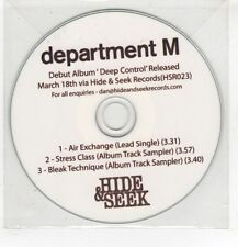 (HF735) Department M, Air Exchange - DJ CD