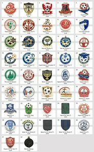Badge Pin: European football clubs Israel