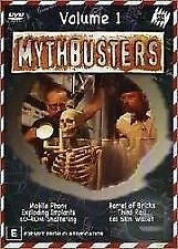 MYTHBUSTERS - VOLUME 1 - BRAND NEW & SEALED R4 DVD (ADAM SAVAGE, JAMIE HYNEMAN)