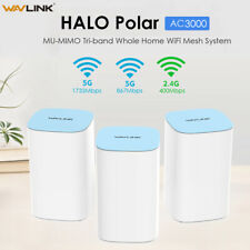 Wavlink AC3000 Tri-Band Whole Home Mesh WiFi System with MU-MIMO, 3-Pack