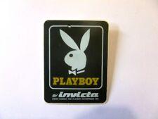 VECCHIO ADESIVO ORIGINALE /Old Sticker SEXI GIRL PLAYBOY RABBIT BUNNY (cm 6x8)
