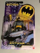 "DC Batman Zipline Batman  6"" Action Figure Universe Super Heroes Mattel 2003"
