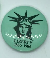 Statue Of Liberty Centennial Button 1986