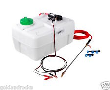 New 12V ATV Garden Weed Sprayer Pump Unit 50L provides 60PSI Solid Chemical Tank