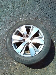 PEUGEOT 2008 GENUINE 16'' ALLOY WHEEL WITH TYRE 195/60/R16 9678398177