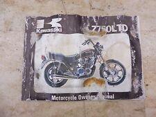 s l225 kawasaki kz owners manual ebay 1981 kz750 wiring diagram at gsmportal.co