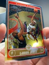 2006-07 Topps Chrome LeBron James Investment Cavaliers Card #67
