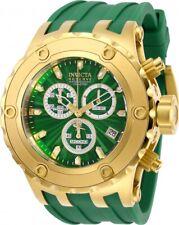 Invicta 27828 Subaqua Men's 52mm Chronograph Gold-tone Green Dial Watch