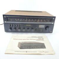 VTG 80s Realistic STA-78 Receiver RadioShack AM/FM Stereo Receiver Tested EUC