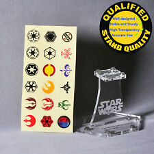 Display Stand for Lego Starwars(Top:4x4,Height:75mm)(stand only)