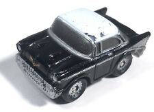 Micro Machines 1986 Galoob '57 Chevy Bel Air Die Variation 1 Black Chevrolet Car