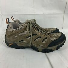 Men's Merrell Sandals Vibram Sole Gray Leather Size 12 Grey
