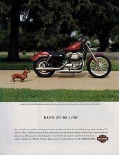2005 HARLEY DAVIDSON & TECKEL   Magazine Print AD