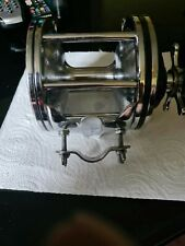 PENN SENATOR 6/0 VTG BIG GAME REEL (USA) IN A SUPERB USED CONDITION+ROD CLAMP...