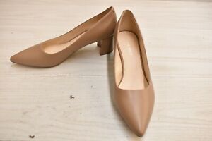 Nine West Ike Pointed Toe Pump, Women's Size 9 M, Medium Natural NEW