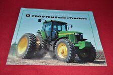 John Deere 7210 7410 7610 7710 7810 Tractor Dealers Brochure Yabe14