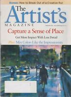 The Artist's Magazine September 2001 Capture a Sense of Place  (Magazine: Art, A