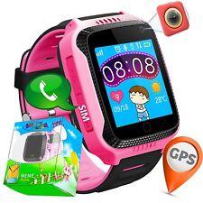 SmartWatch para Niño Niña Reloj Inteligente GPS Camara Juegos Alarma Naranja