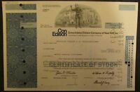 Consolidated Edison Company of New York, Stock Certificate (216 shares)