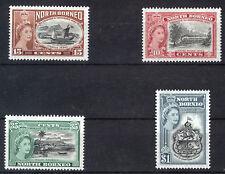 NORTH BORNEO 1956 75th ANNIVERSARY BNB CO. SG387/390 BLOCKS OF 4 MNH
