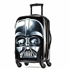 "Star Wars 21"" Suitcase Luggage Hard Bag Wheels Darth Vader Carry-On Travel Black"