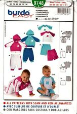 Burda Sewing Pattern 9748  Babies Top, Jumper and Pants EUR 68-98 US 6m-3