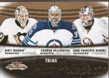 MATT MURRAY, CONNOR HELLEBUYCK & BERUBE 2015-16 Fleer Showcase Rookie #222/599