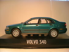 EXTREMELY RARE MET GREEN MINICHAMPS 1/43  2000 VOLVO S40  FANTASTIC DETAIL NLA