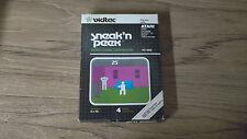 Sneak 'n Peek  (Atari 2600, 1982) Complete in the Box
