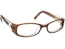 Michael Kors Eyeglasses MK587 203 Brown /Clear Rectangular Frame 50[]18 130