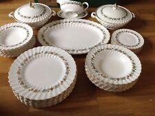Royal Doulton Piedmont Pattern H4967 ( 37 Piece Dinner Service ) 1st Quality
