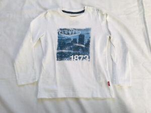 Garçon 6 Ans Lévis Levi's Superbe T-shirt Haut Manches Longues Excellent État