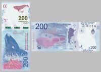 Argentinien / Argentina 200 Pesos 2016 p364 unz.
