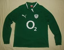 Ireland (IRFU) / 2011-2013 PUMA - MENS LS rugby Shirt / Jersey cotton replica XL