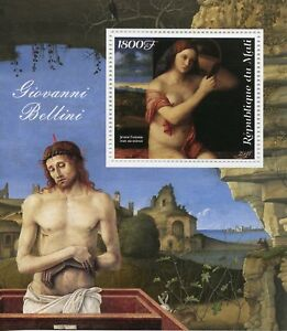 Mali 2018 MNH Giovanni Bellini 1v M/S Art Nudes Nude Paintings Stamps